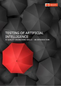 "Frontpage for paper ""Testing of Artificial Intelligence"""